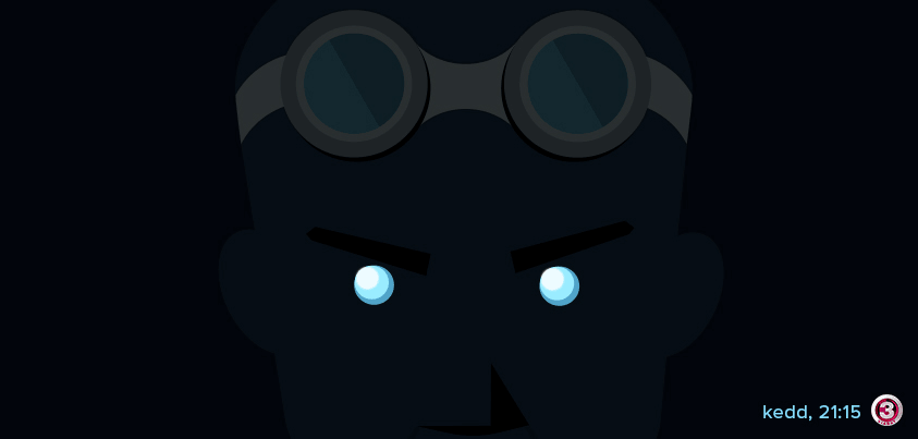 Riddick Minimalistic Facebook Post Image on VIASAT3